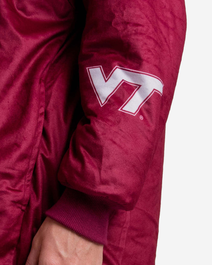 Virginia Tech Hokies Reversible Colorblock Hoodeez FOCO - FOCO.com