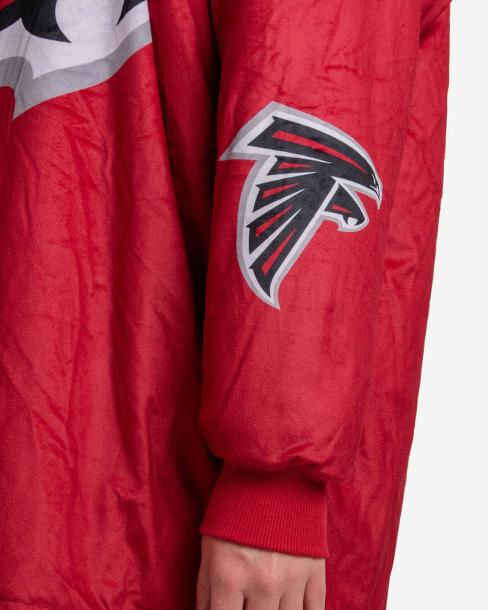 Atlanta Falcons Reversible Colorblock Hoodeez FOCO - FOCO.com