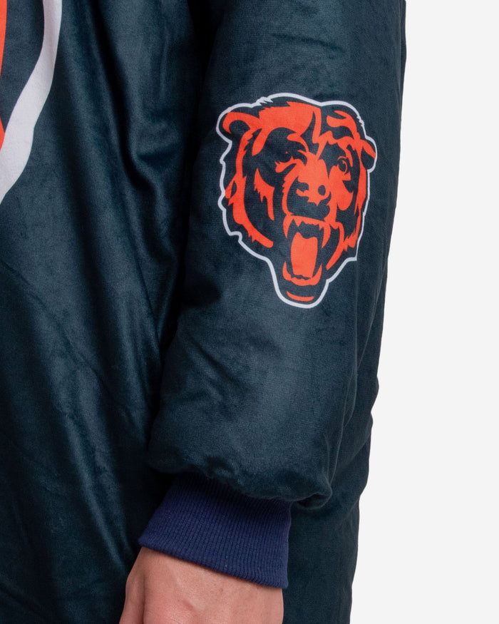 Chicago Bears Reversible Colorblock Hoodeez FOCO - FOCO.com