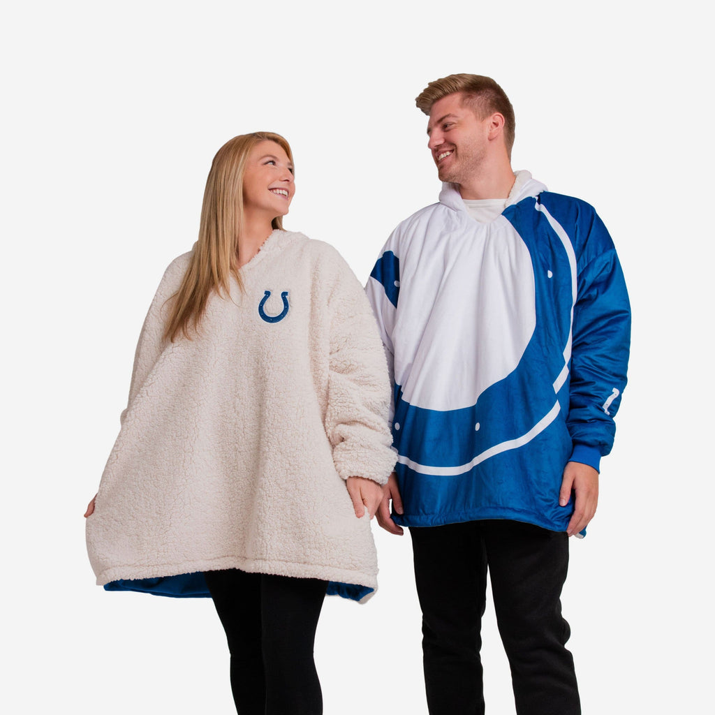 Indianapolis Colts Reversible Colorblock Hoodeez FOCO - FOCO.com