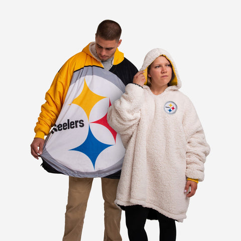 Pittsburgh Steelers Reversible Colorblock Hoodeez