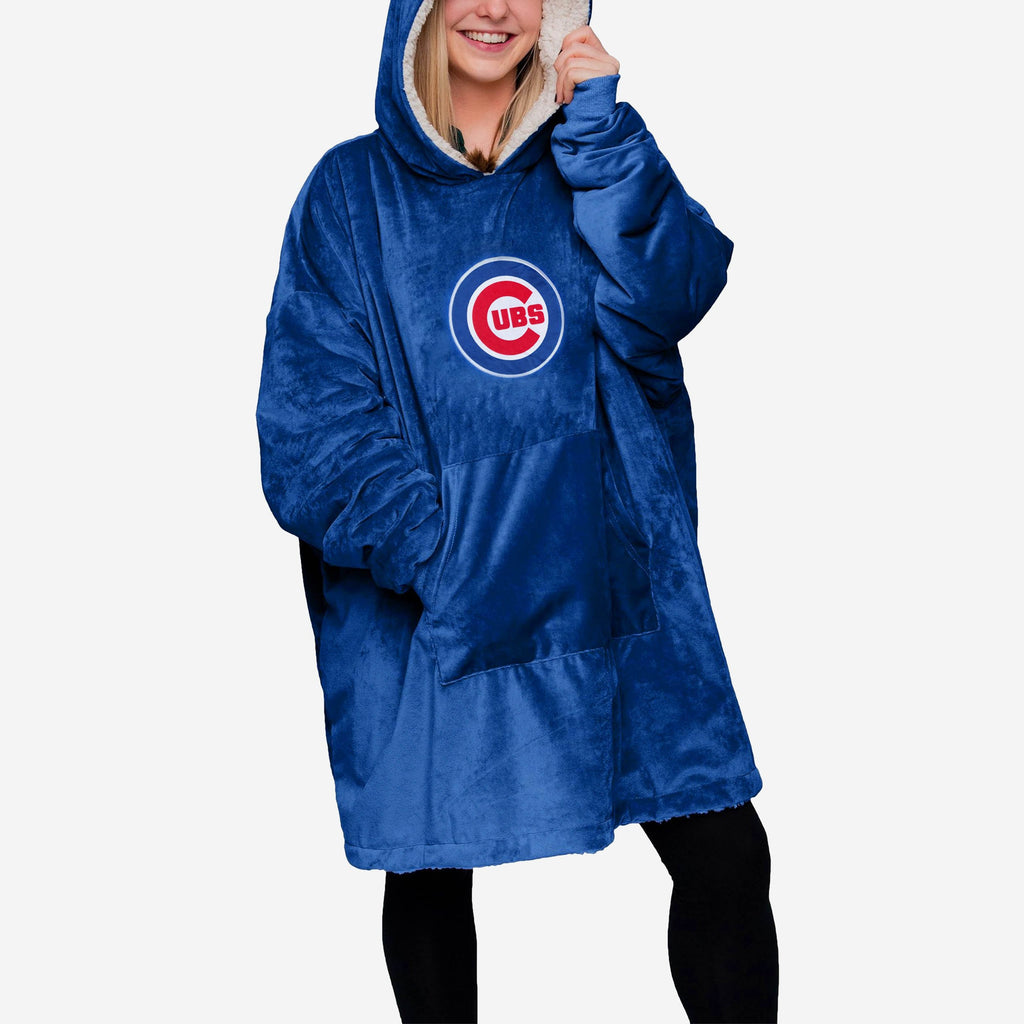 Chicago Cubs Reversible Big Logo Hoodeez