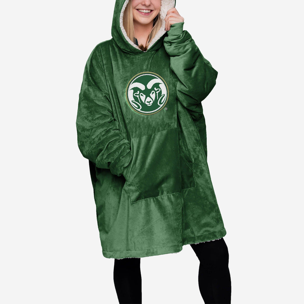 Colorado State Rams Reversible Big Logo Hoodeez