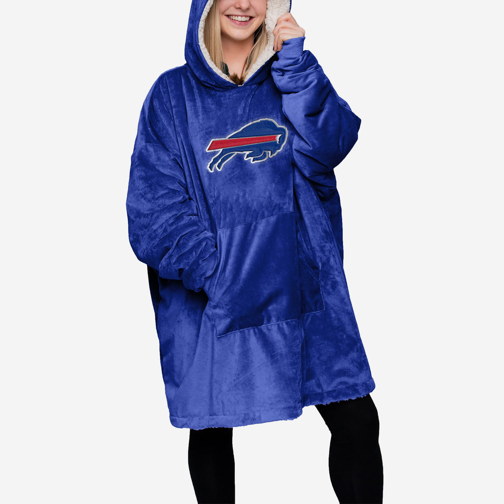 Buffalo Bills Reversible Big Logo Hoodeez
