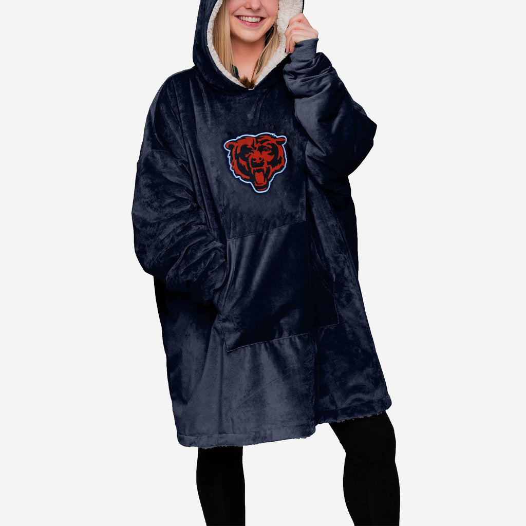Chicago Bears Reversible Big Logo Hoodeez