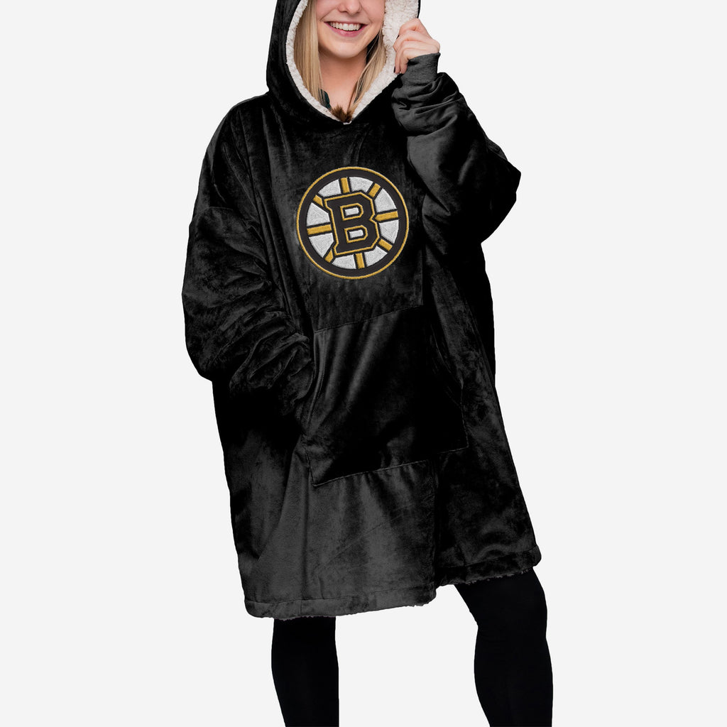 Boston Bruins Reversible Big Logo Hoodeez FOCO - FOCO.com