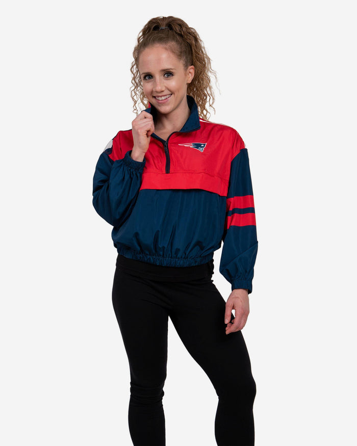 New England Patriots Womens Winning Play Windbreaker FOCO S - FOCO.com