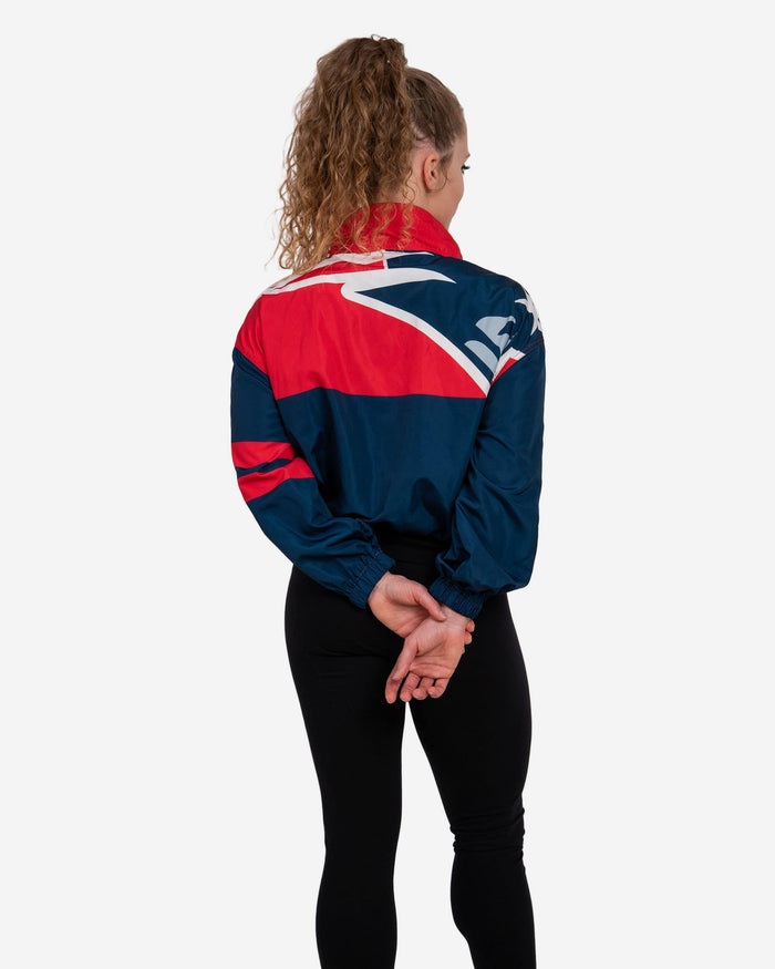 New England Patriots Womens Winning Play Windbreaker FOCO - FOCO.com