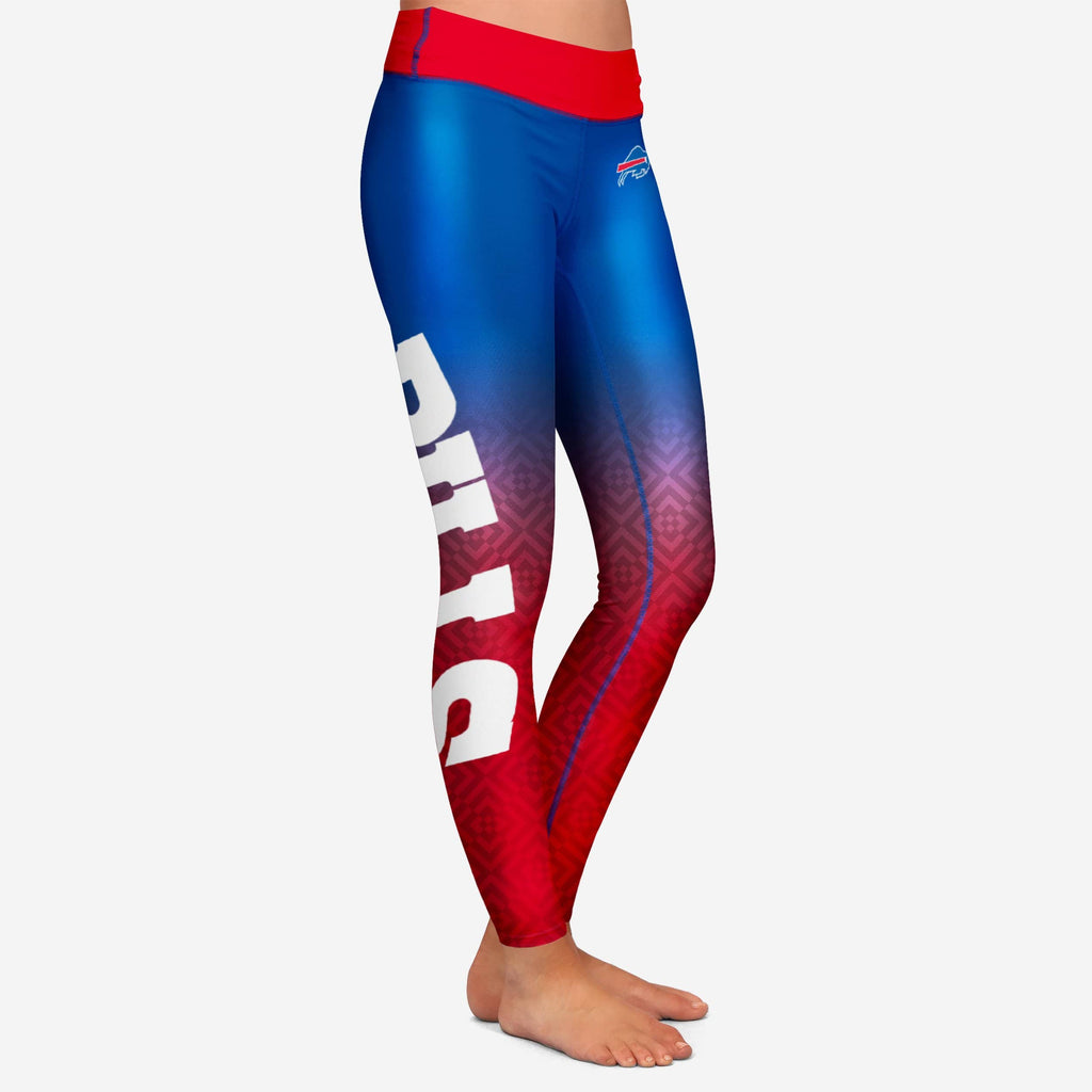 Buffalo Bills Womens Gradient Print Legging
