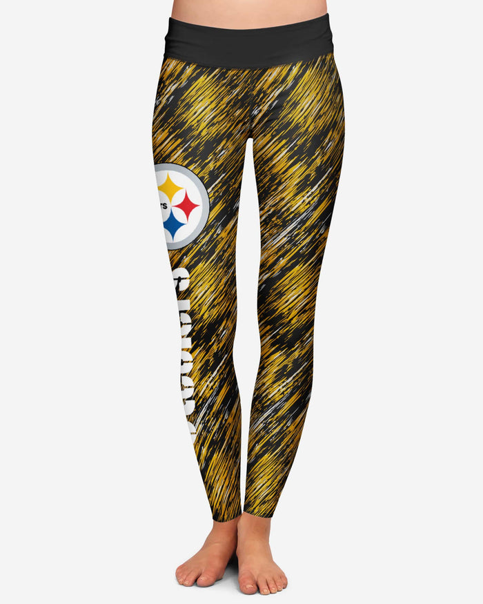 Pittsburgh Steelers Womens Static Rain Legging FOCO - FOCO.com