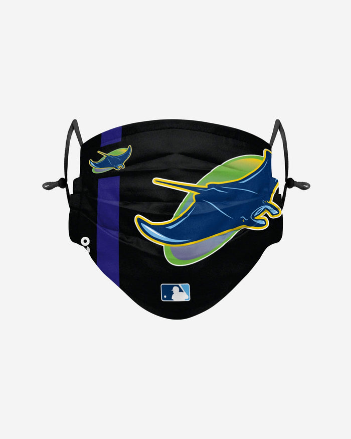 Tampa Bay Rays On-Field Adjustable Cooperstown Logo Face Cover FOCO - FOCO.com