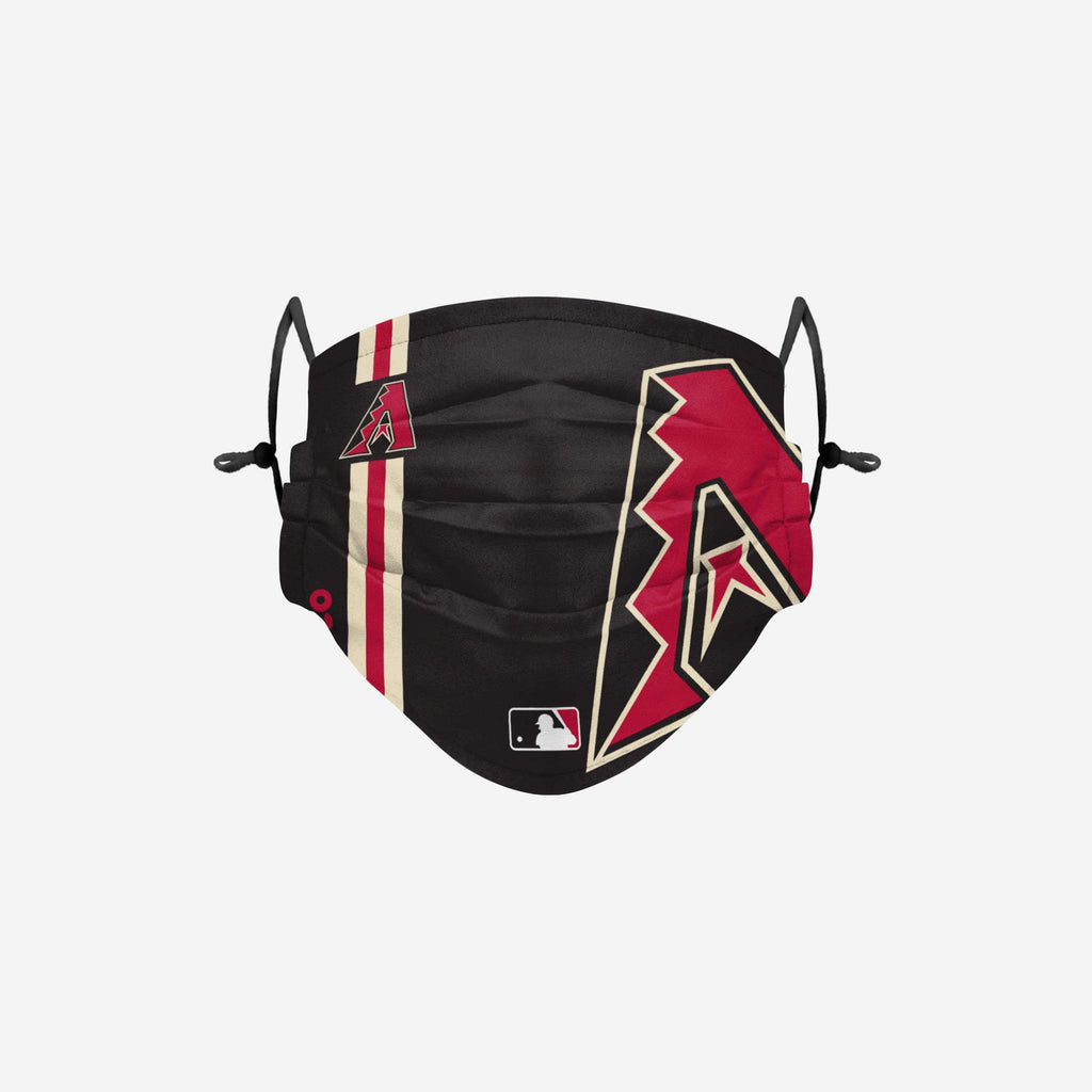 Arizona Diamondbacks On-Field Adjustable Black Face Cover FOCO - FOCO.com