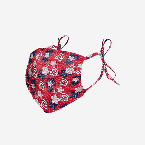 Washington Nationals Hibiscus Tie-Back Face Cover