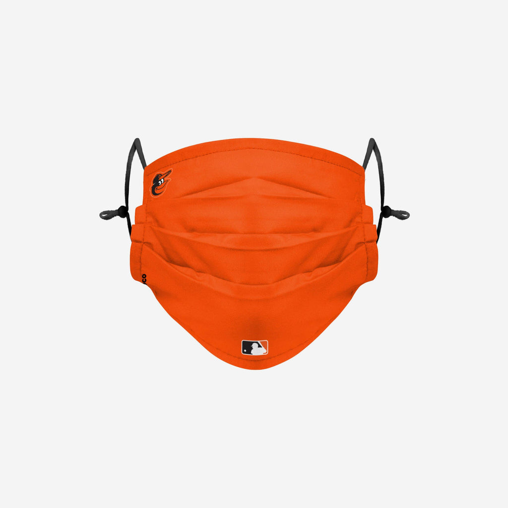 Baltimore Orioles On-Field Gameday Adjustable Face Cover FOCO - FOCO.com