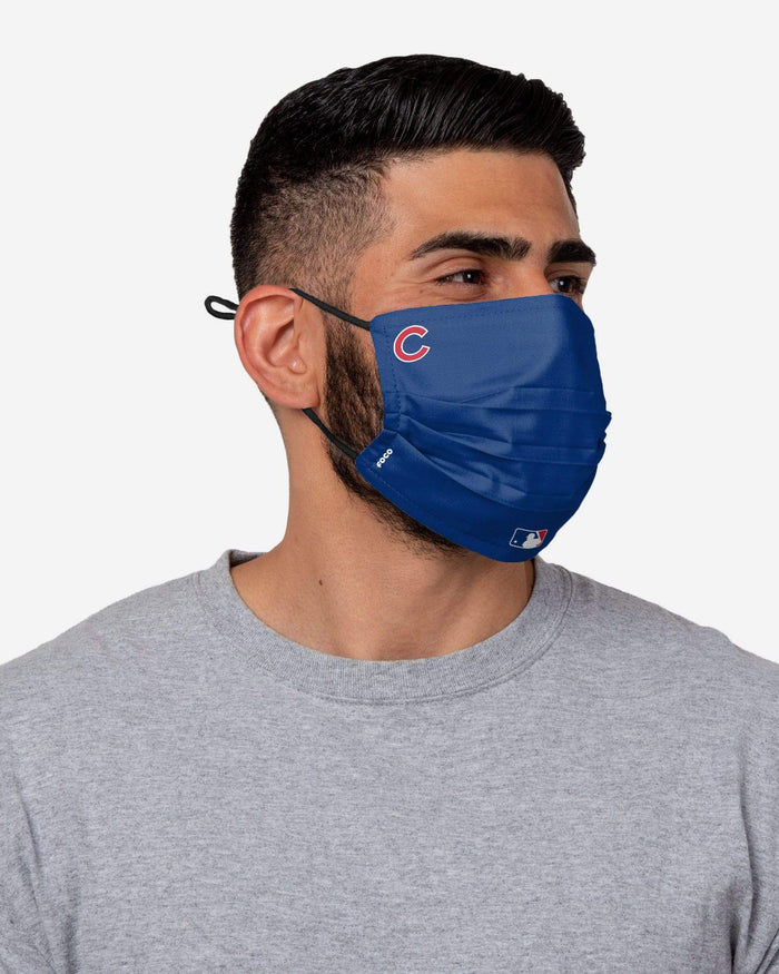Chicago Cubs On-Field Gameday Adjustable Face Cover FOCO - FOCO.com