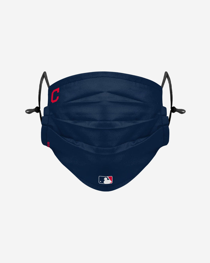 Cleveland Indians On-Field Gameday Adjustable Face Cover FOCO - FOCO.com