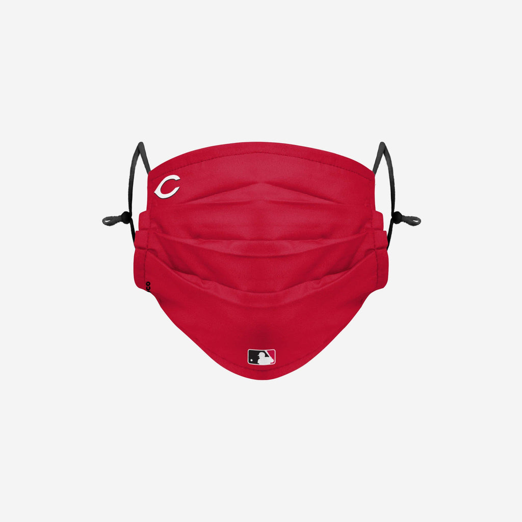 Cincinnati Reds On-Field Gameday Adjustable Face Cover FOCO - FOCO.com