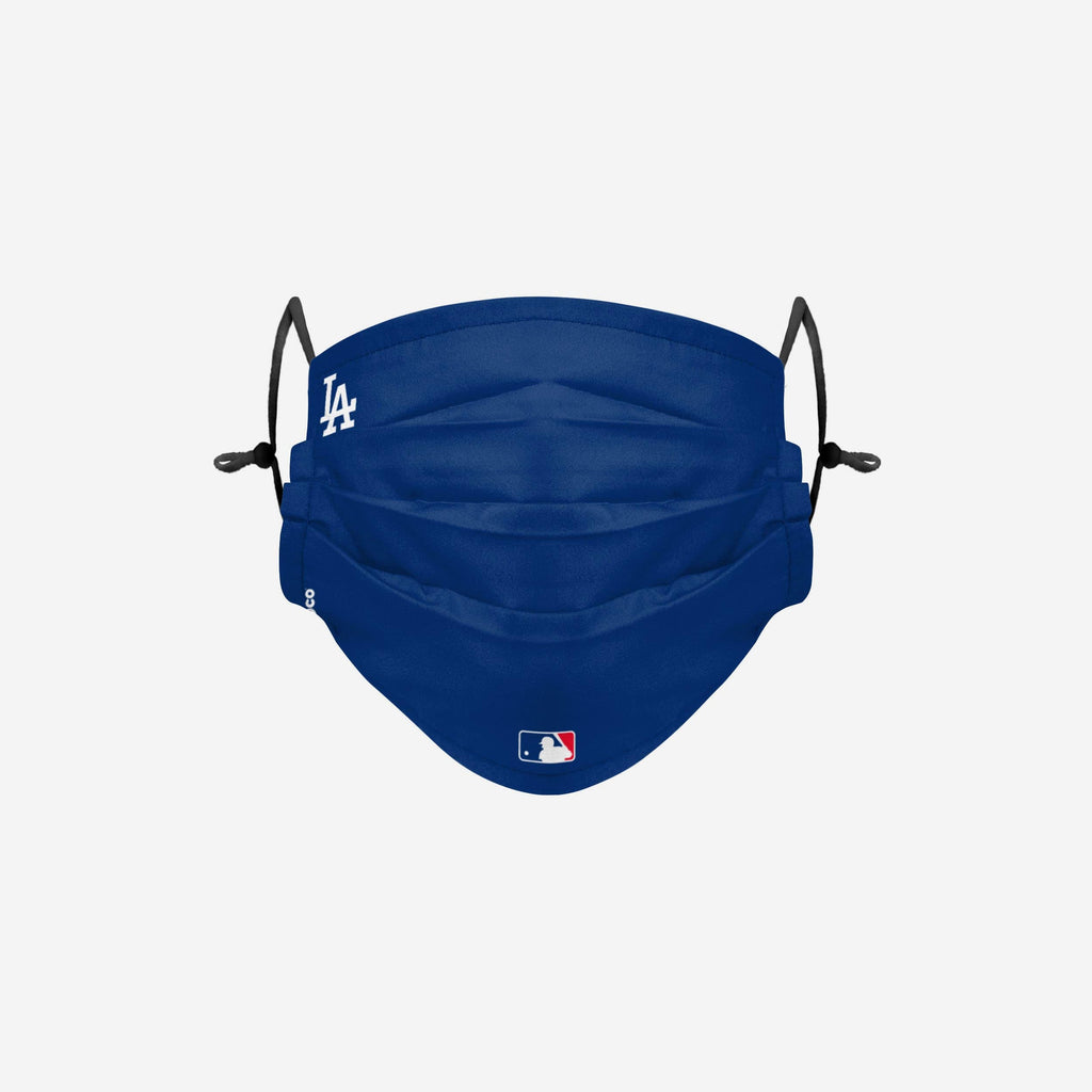 Los Angeles Dodgers On-Field Gameday Adjustable Face Cover FOCO - FOCO.com