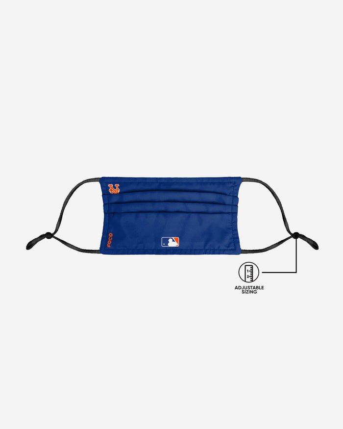 New York Mets On-Field Gameday Adjustable Face Cover FOCO - FOCO.com