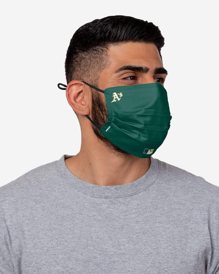 Oakland Athletics On-Field Gameday Adjustable Face Cover FOCO - FOCO.com