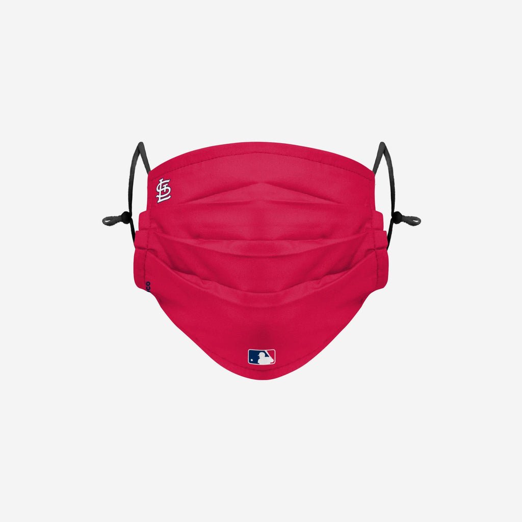 St Louis Cardinals On-Field Gameday Adjustable Face Cover FOCO - FOCO.com