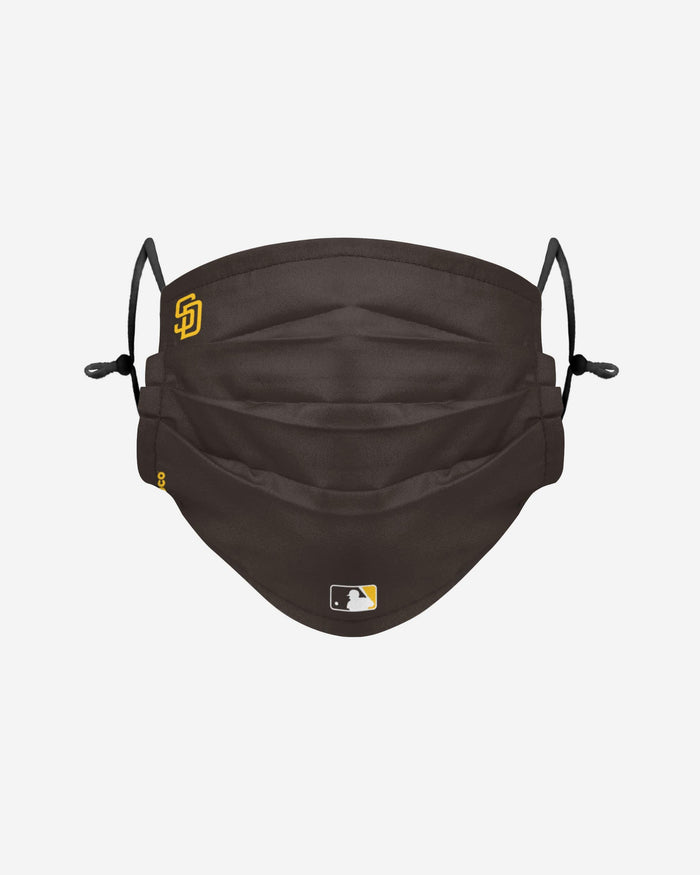 San Diego Padres On-Field Gameday Adjustable Face Cover FOCO - FOCO.com