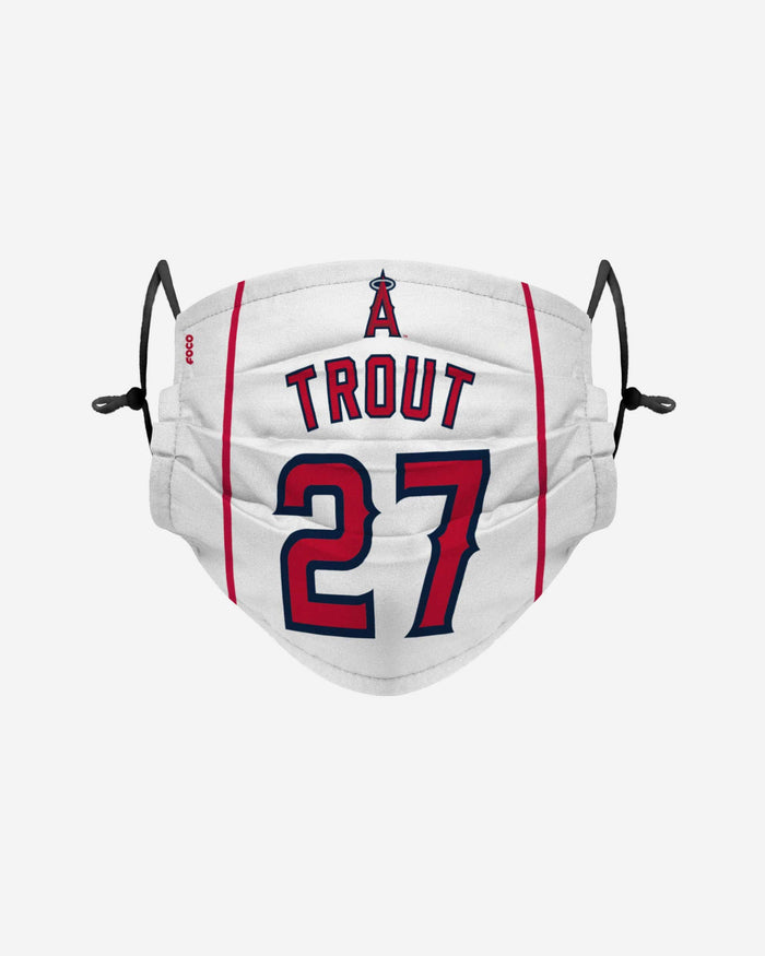Mike Trout Los Angeles Angels Adjustable Face Cover FOCO - FOCO.com