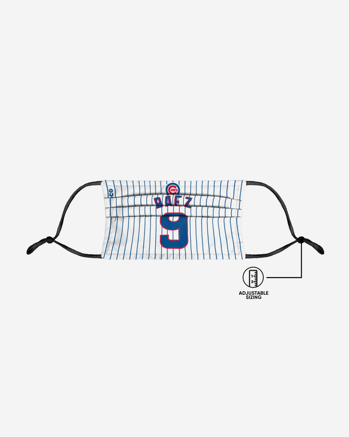 Javier Baez Chicago Cubs Adjustable Face Cover FOCO - FOCO.com