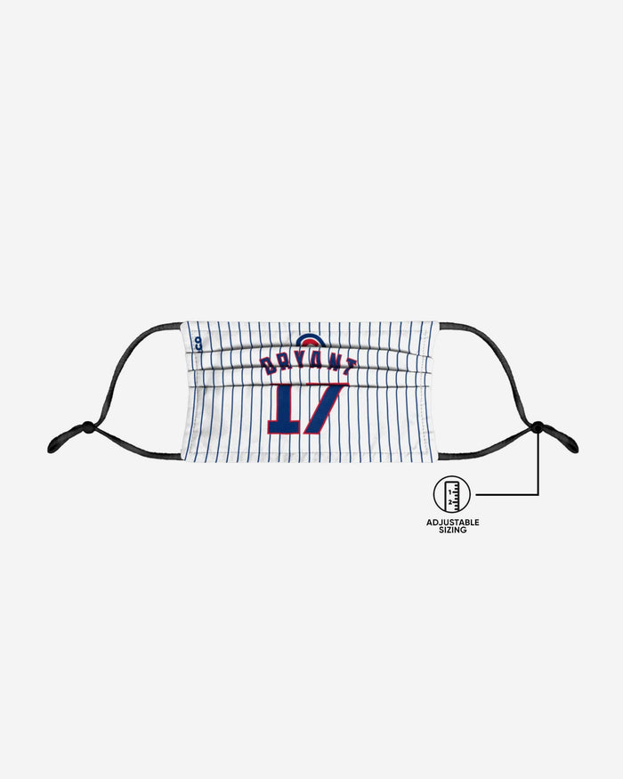 Kris Bryant Chicago Cubs Adjustable Face Cover FOCO - FOCO.com
