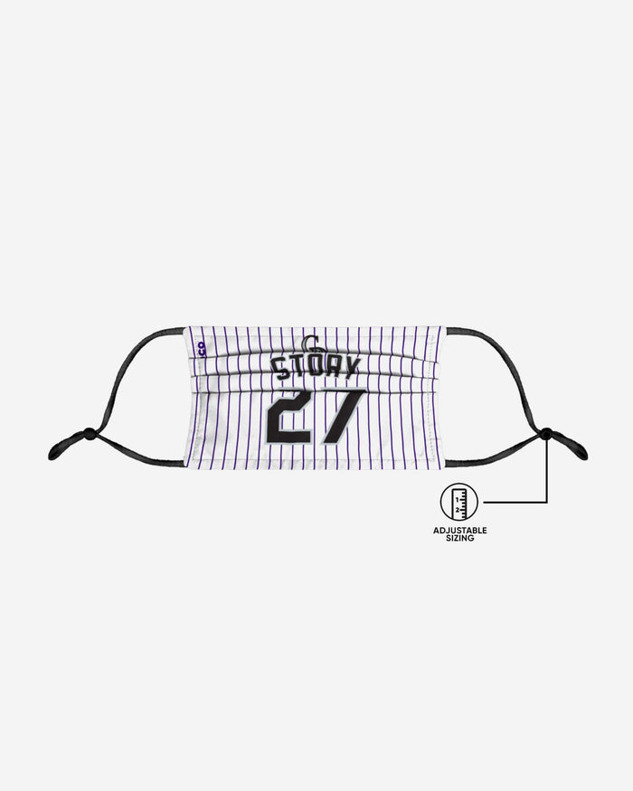 Trevor Story Colorado Rockies Adjustable Face Cover FOCO - FOCO.com