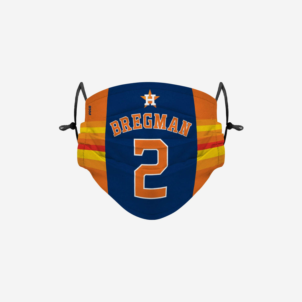 Alex Bregman Houston Astros Adjustable Face Cover FOCO - FOCO.com