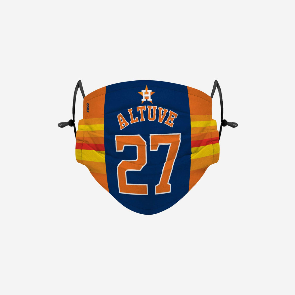 Jose Altuve Houston Astros Adjustable Face Cover FOCO - FOCO.com