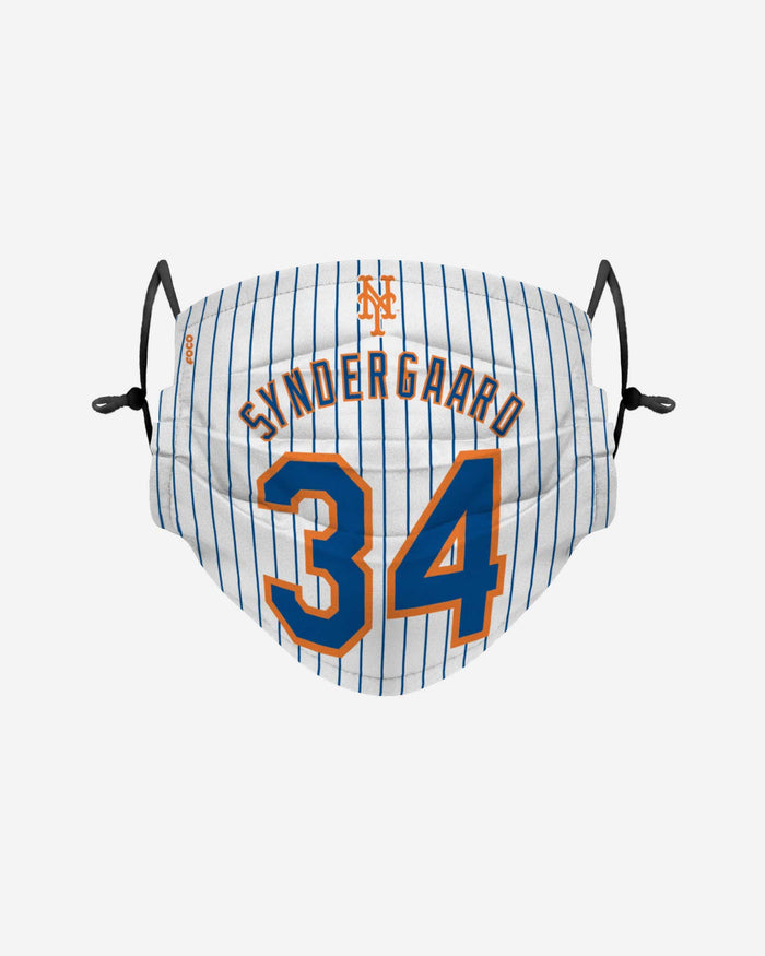 Noah Syndergaard New York Mets Adjustable Face Cover FOCO - FOCO.com