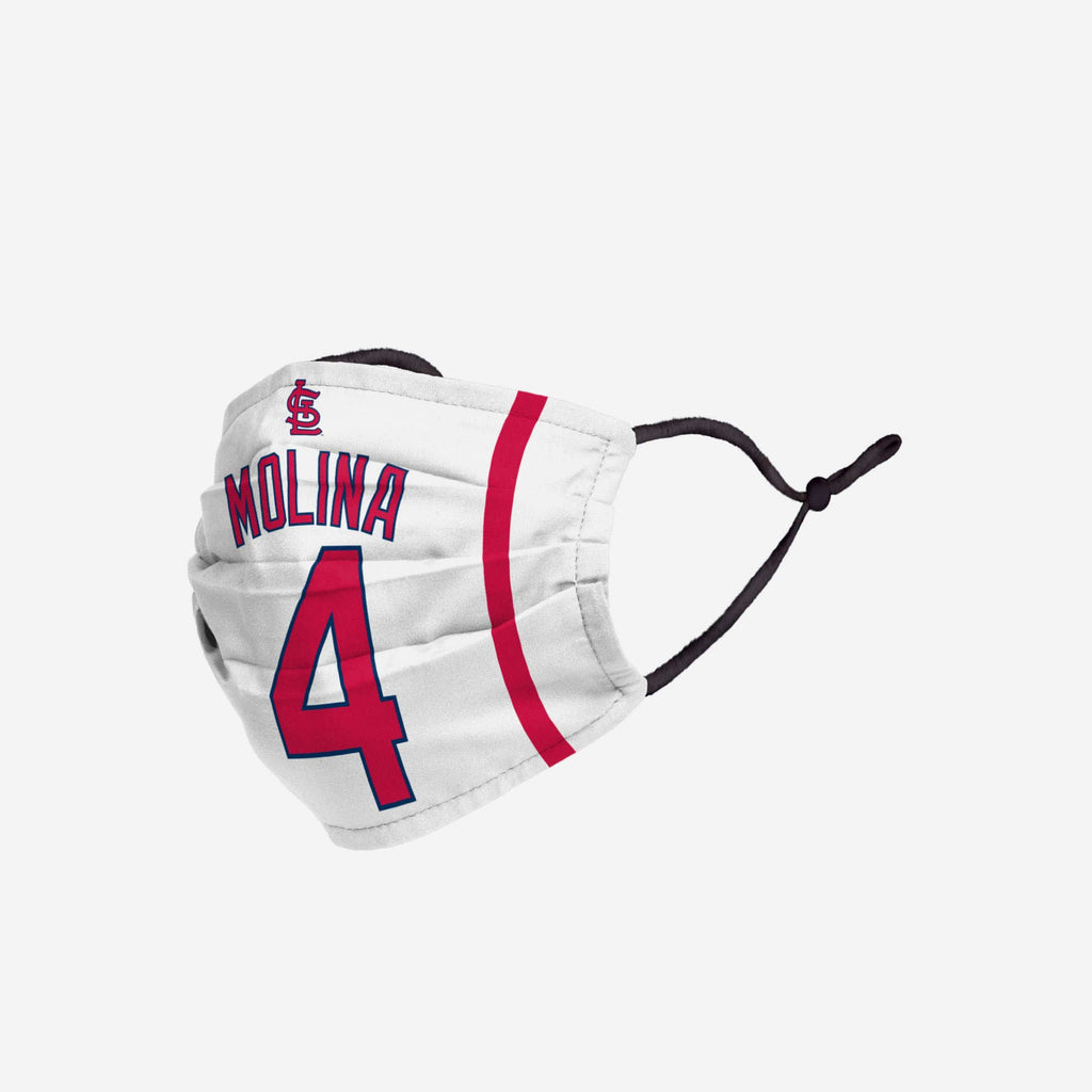 Yadier Molina St Louis Cardinals Adjustable Face Cover FOCO - FOCO.com