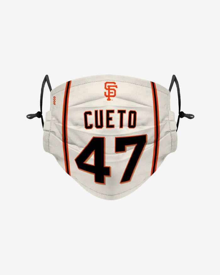 Johnny Cueto San Francisco Giants Adjustable Face Cover FOCO - FOCO.com