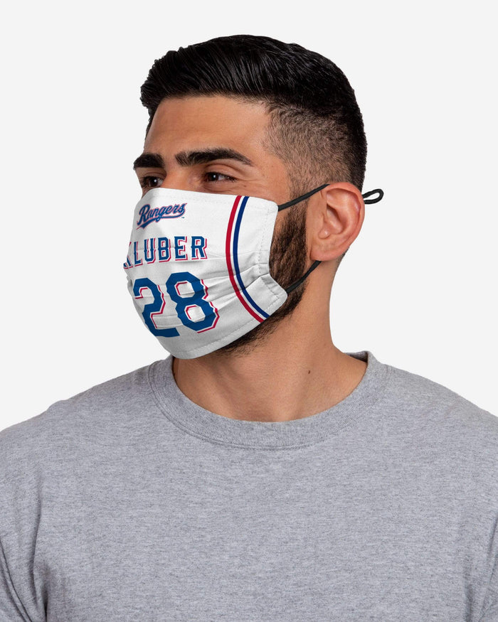 Corey Kluber Texas Rangers Adjustable Face Cover FOCO - FOCO.com
