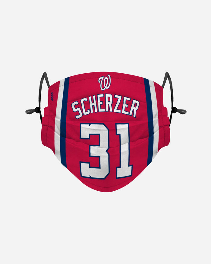 Max Scherzer Washington Nationals Adjustable Face Cover FOCO - FOCO.com