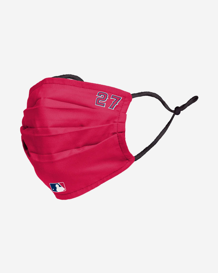 Mike Trout Los Angeles Angels On-Field Gameday Adjustable Face Cover FOCO - FOCO.com
