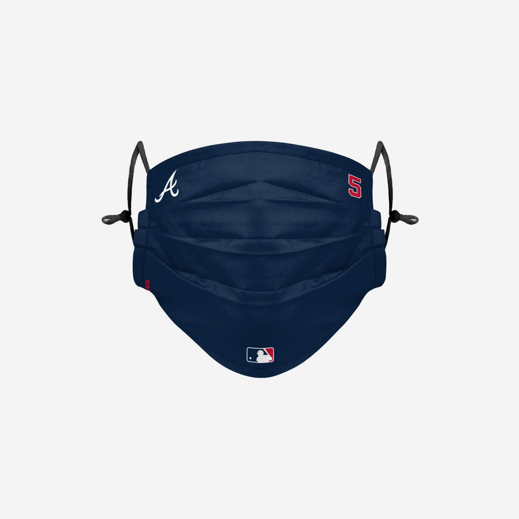 Freddie Freeman Atlanta Braves On-Field Gameday Adjustable Face Cover FOCO - FOCO.com