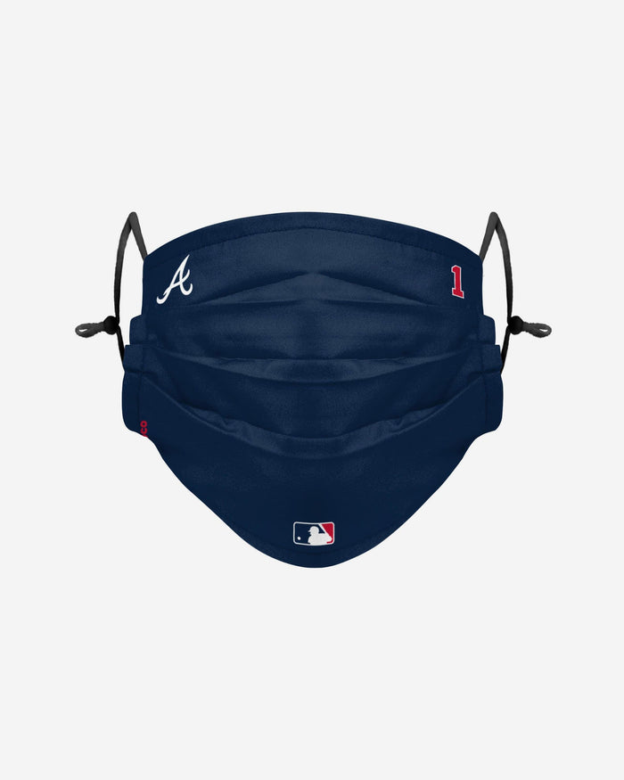 Ozzie Albies Atlanta Braves On-Field Gameday Adjustable Face Cover FOCO - FOCO.com