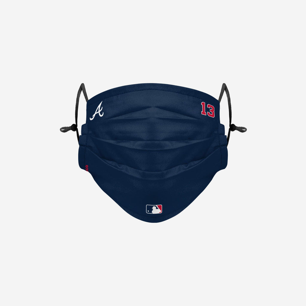 Ronald Acuna Jr Atlanta Braves On-Field Gameday Adjustable Face Cover FOCO - FOCO.com