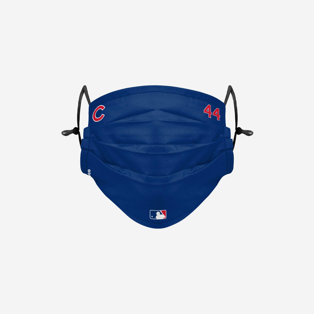 Anthony Rizzo Chicago Cubs On-Field Gameday Adjustable Face Cover FOCO - FOCO.com