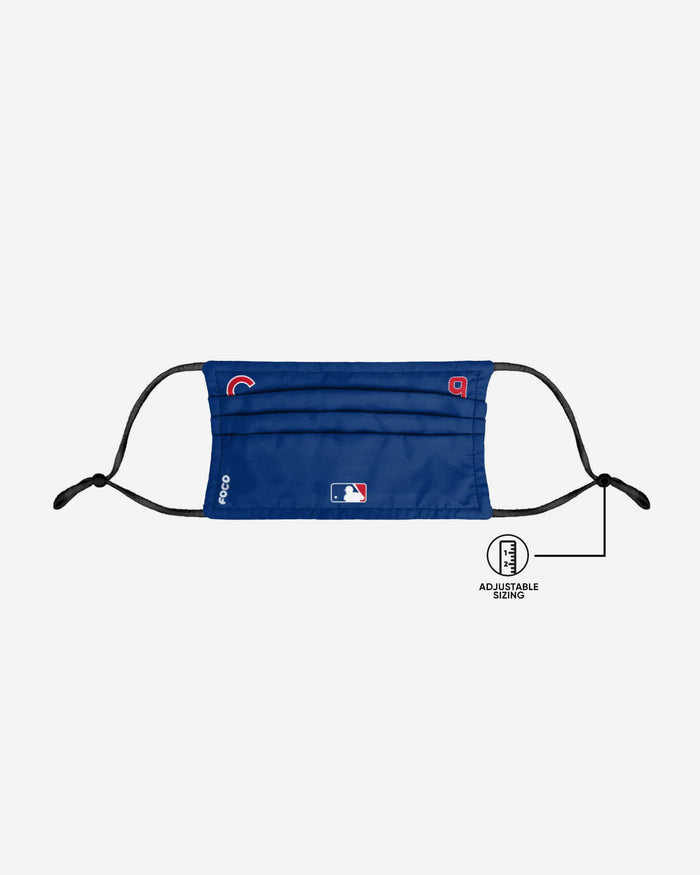 Javier Baez Chicago Cubs On-Field Gameday Adjustable Face Cover FOCO - FOCO.com