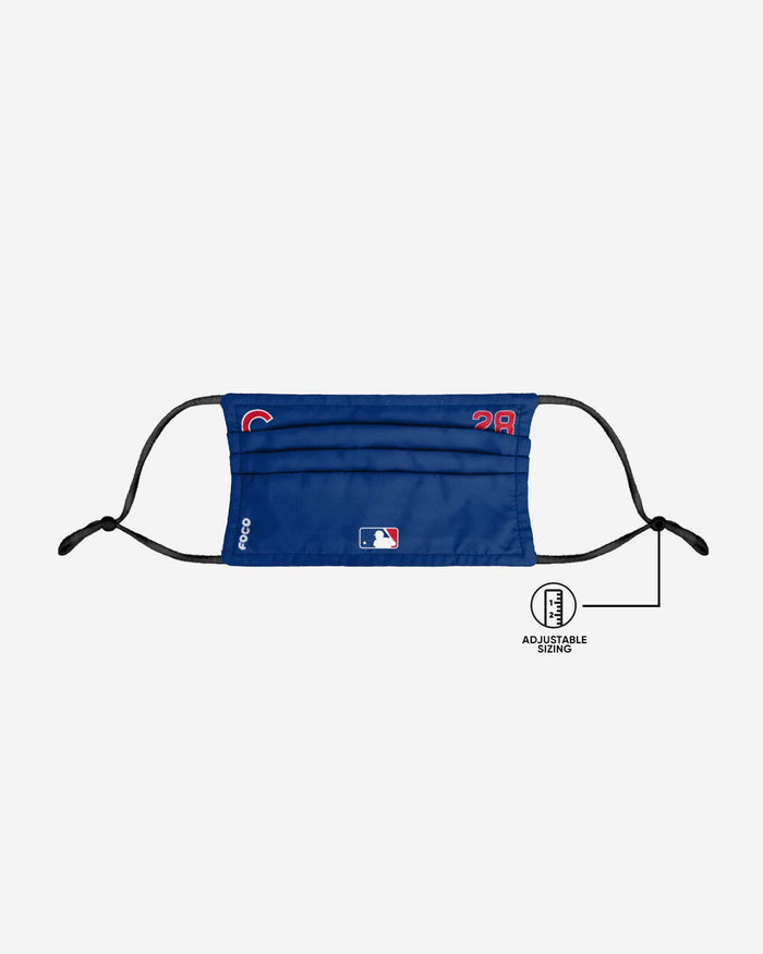 Kyle Hendricks Chicago Cubs On-Field Gameday Adjustable Face Cover FOCO - FOCO.com