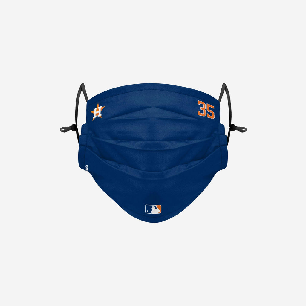 Justin Verlander Houston Astros On-Field Gameday Adjustable Face Cover FOCO - FOCO.com