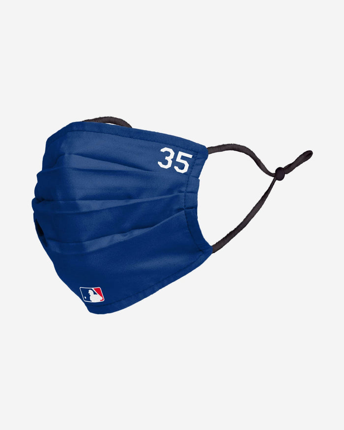 Cody Bellinger Los Angeles Dodgers On-Field Gameday Adjustable Face Cover FOCO - FOCO.com