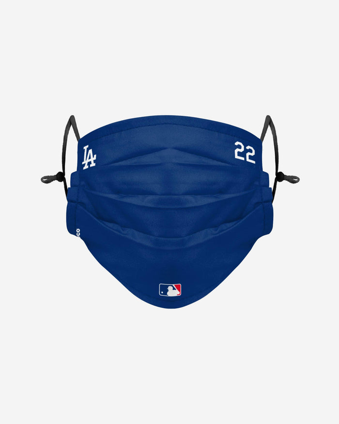 Clayon Kershaw Los Angeles Dodgers On-Field Gameday Adjustable Face Cover FOCO - FOCO.com