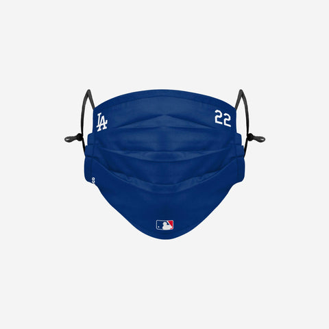 Clayon Kershaw Los Angeles Dodgers On-Field Gameday Adjustable Face Cover