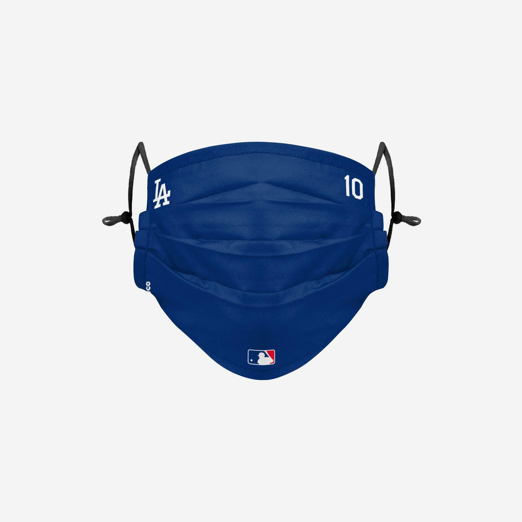 Justin Turner Los Angeles Dodgers On-Field Gameday Adjustable Face Cover FOCO - FOCO.com
