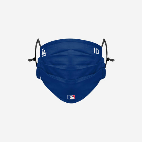 Justin Turner Los Angeles Dodgers On-Field Gameday Adjustable Face Cover